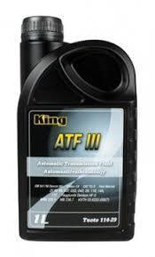 King Automatic Transmission Fluid ATF 3