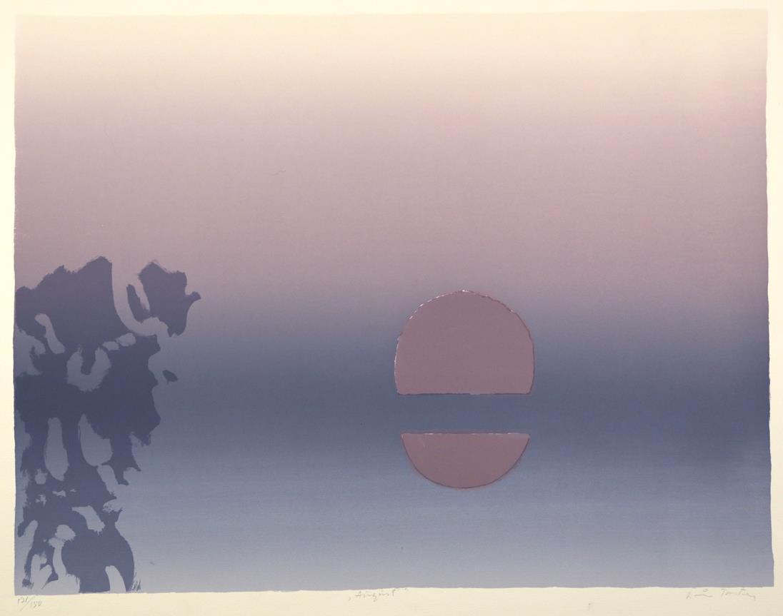 """""""August"""", silketrykk, 49 x 63,5 cm."""