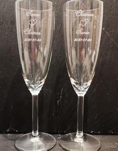 "Champagneglas ""hans & hennes"" 15 cl"