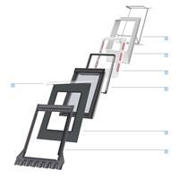 Velux systempakke 2, MK10 78x160 cm