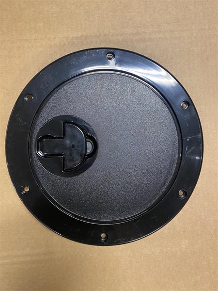 Inspeksjonsluke D265 mm sort