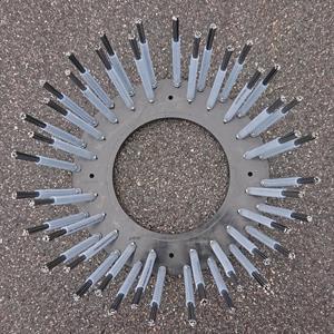 Ogräsborste 14 mm knippe