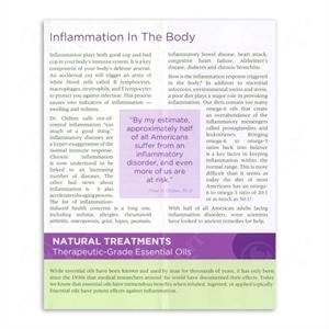 Ess. Oils & and Inflammation Broschyr