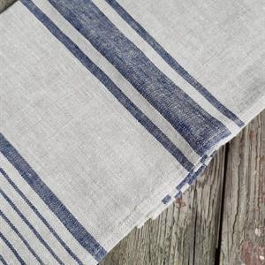 AGNES håndkle denimblå
