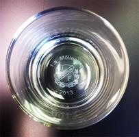 Whiskeyglas Islande 20 cl m. bottengravyr