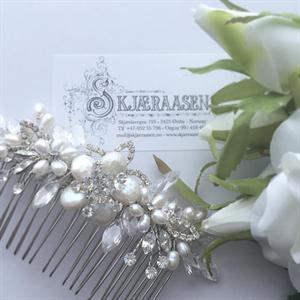 Victoria hårkam sølv