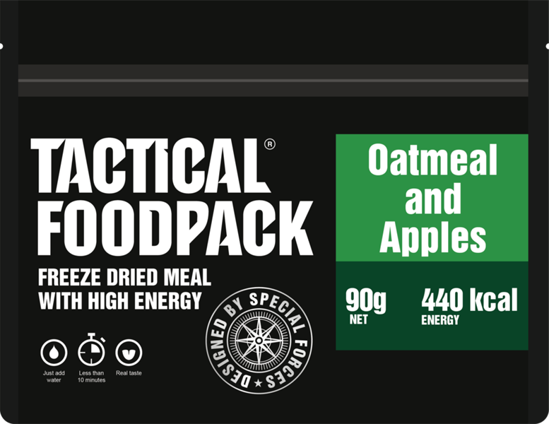 Outmeal and apples