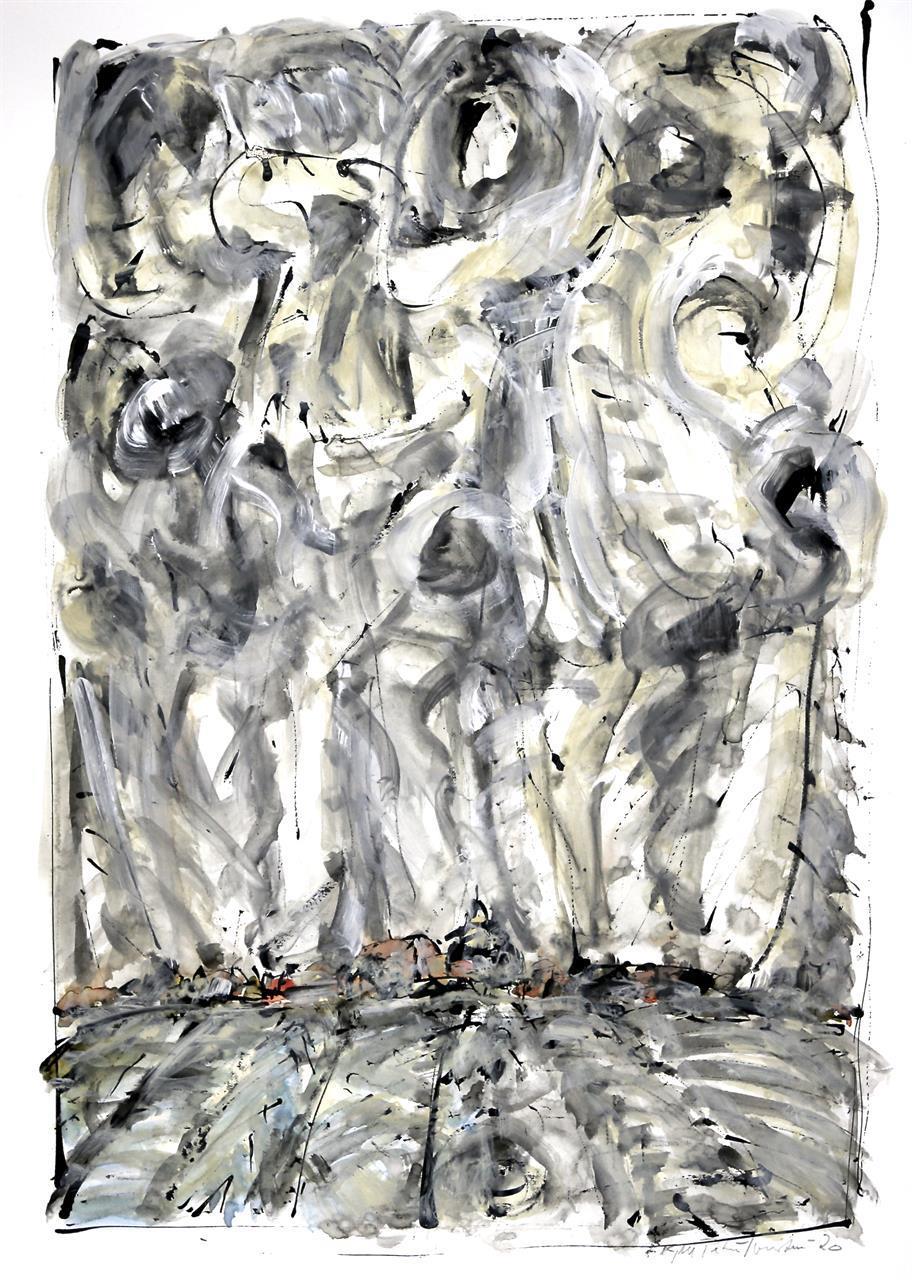 """Dansk morgen"" 60 x 40 cm."