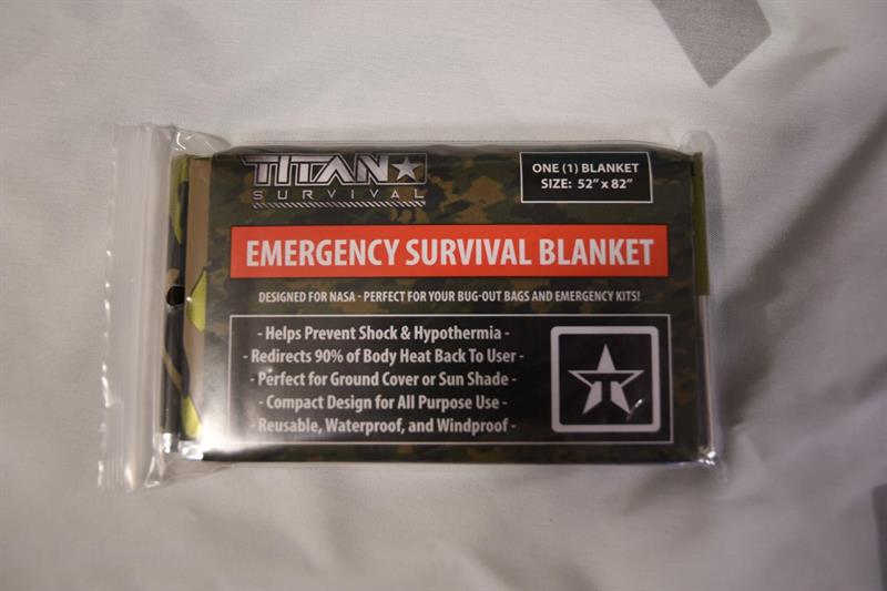 Mylar Emergency Survival Blanket