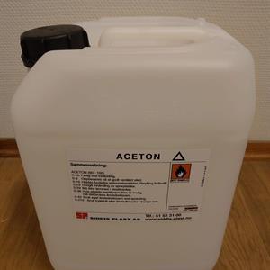 Aceton 10 liter Kanne