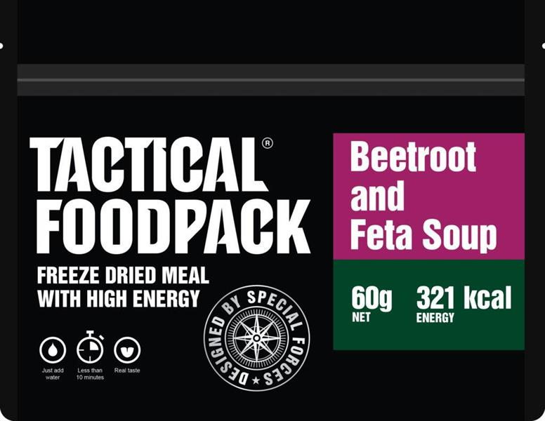 Beetroot and Feta soup