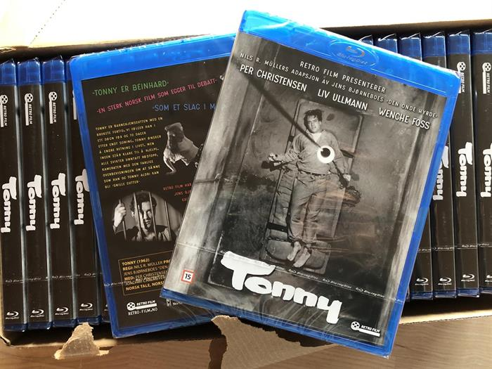 """""""Tonny"""" nå tilgjengelig på Blu-ray!"""
