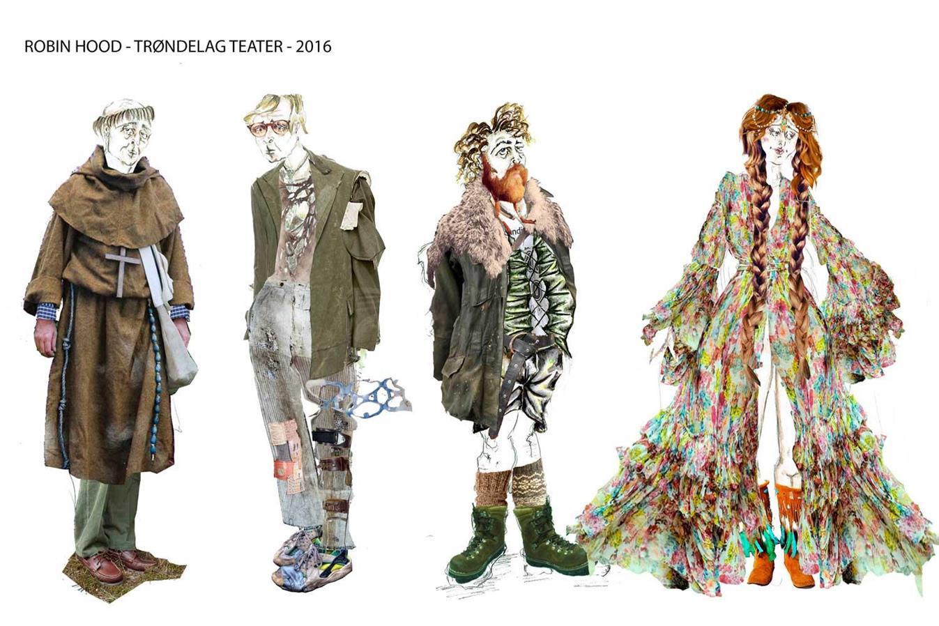 Robin Hood - Director: Mads Bones Costume design: Christina Lovery