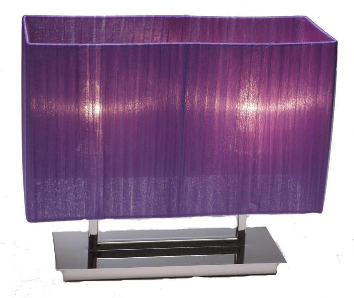 Organza table - purple