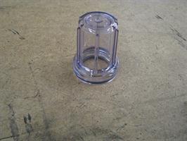 Vattenkopp, V-filter G1/G2 (Glas, underdel)