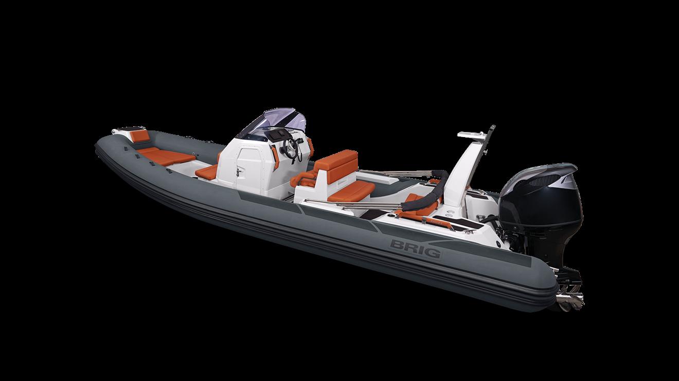 Brig E8H, basic båt ,  - urigget
