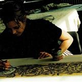 Harry Potter 1 & 2 - Assisting by hand painting on costumes