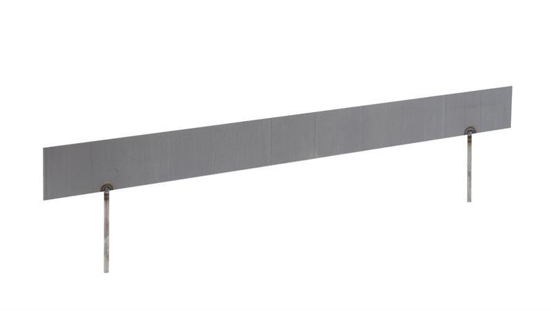 Kantavgränsare 100cm - rostig