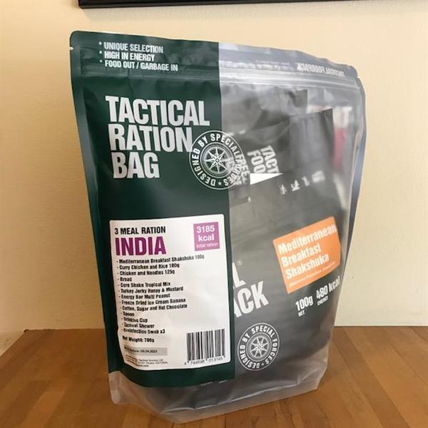 Tactical Foodpack 3 Meal Ration India
