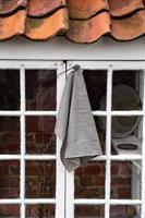 TORA kjøkkenhåndkle i lin sort