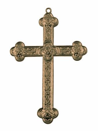 Anheng kors antikk bronzefarge