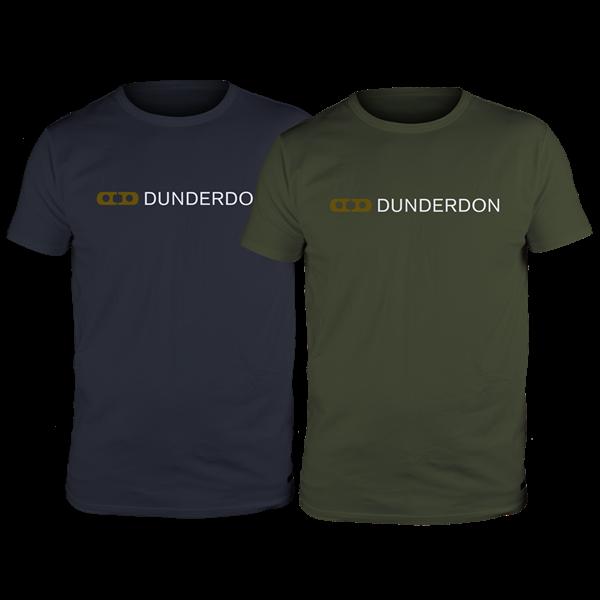 Dunderbon T4 T-shirt Logo 2-pack