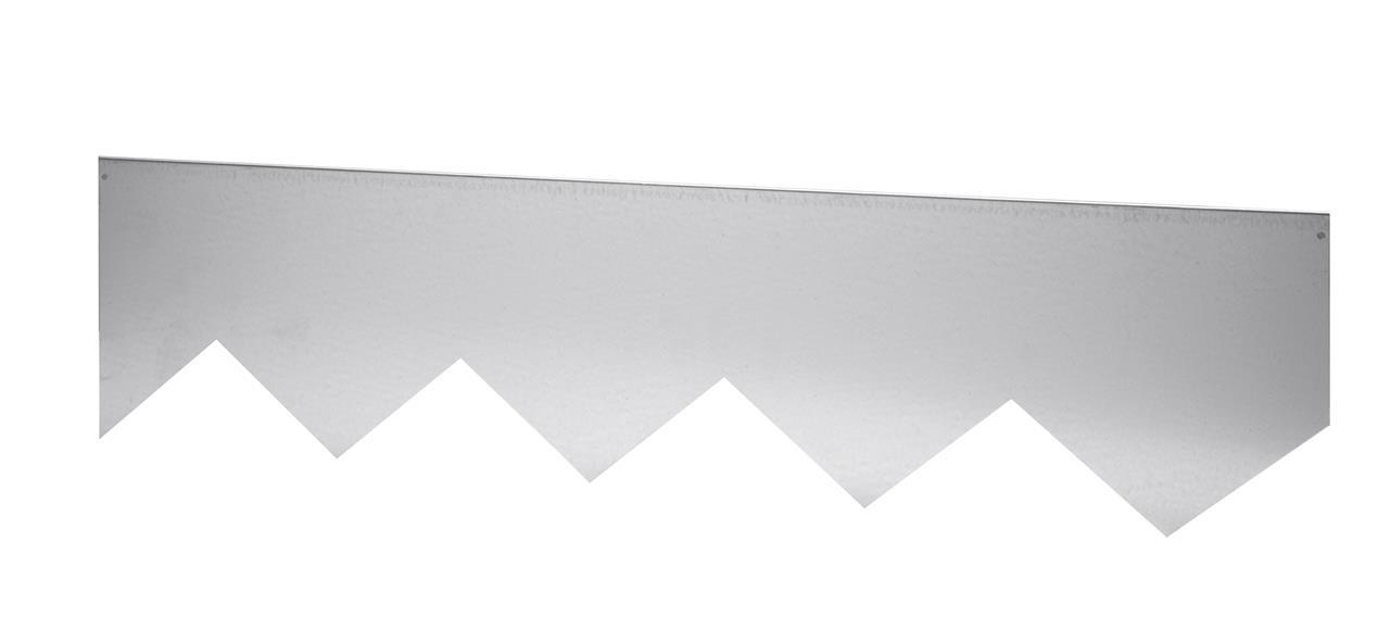 Odlingskant 2x90+2x45cm - zink