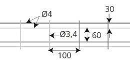 Scan U-blokkarmering 4m