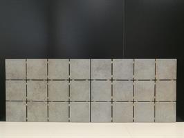 MYYTY! #0212# 17,4 m2 erä Iside Grigio 10x10cm lattialaatta