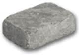Holmegaard gråmix 1/2 stein 6 cm
