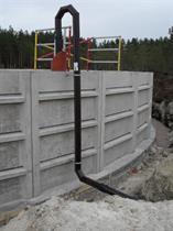 Pumpledning Åstebyn 2012