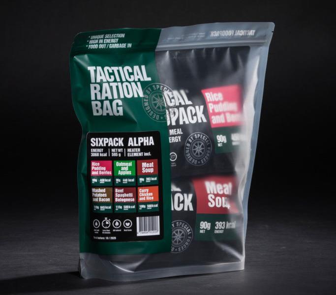 Tactical Six Pack Alpha
