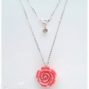 Rose øredobb