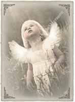 Fyrstikkeske 17 Engel i enga