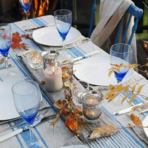 AGNES linduk blå 320 cm
