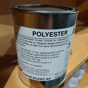 Polyester 1 kg  Boks