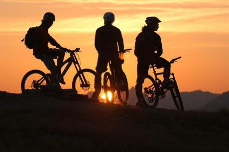 Sykkeltur i Nordmarka