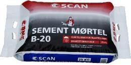 Scan Mørtel B-20 Big Bag 1000 kg