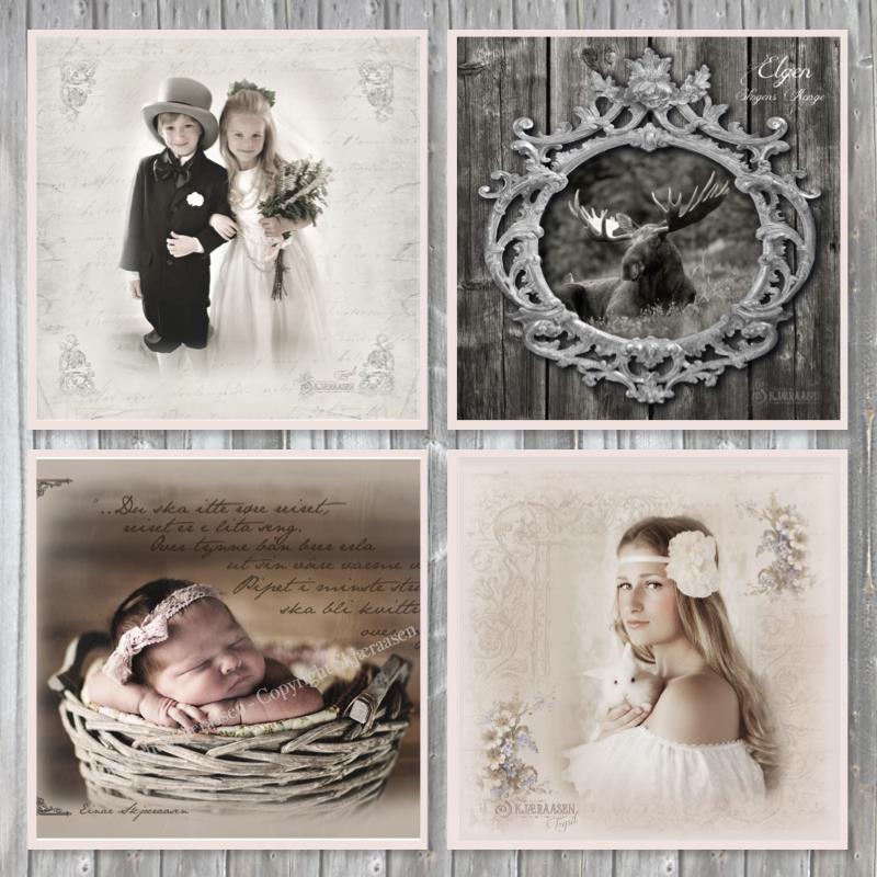 kort , brudekort, konfirmasjonskort, babykort, postkort