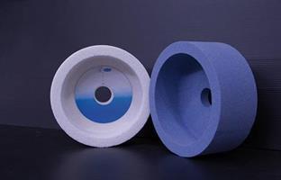 Slipskiva blå