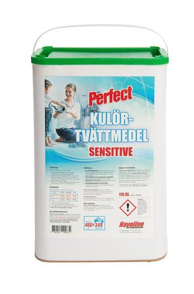 Kulörtvättmedel Sensitive, 115 dl - 460 tvättar