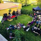 Trädgårdsfest med Ebbot