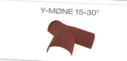 Y-møne 15-30 grader