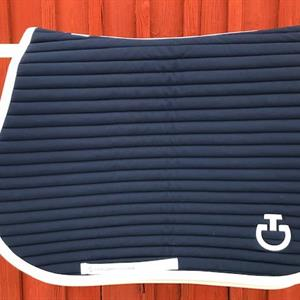 Quilted Row Jersey Jumping Saddle Pad