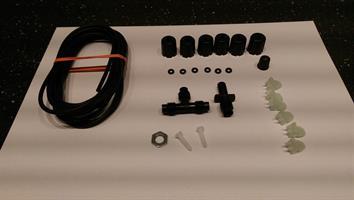 Slang- & monteringskit till Manometer/luftdämpare