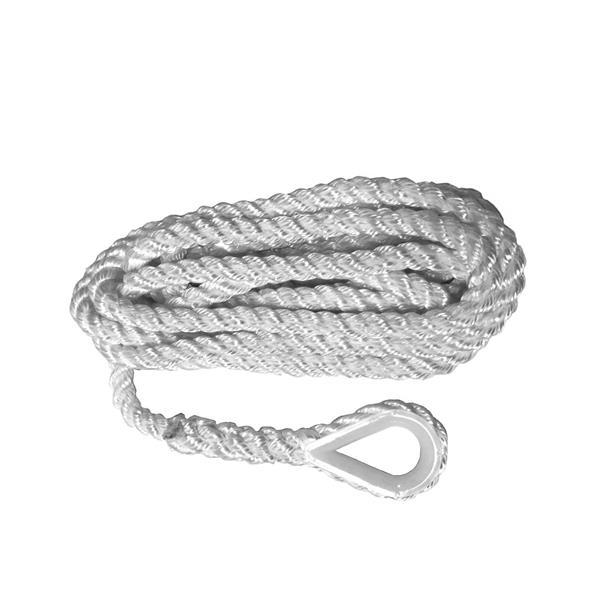 Armerad pol., 3-sl, förtlina m. nylonkaus, 10mmx6m
