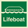 Lifeboat 150x150 mm