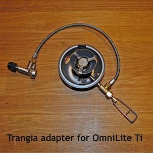 Adapter till Trangia för brännare.
