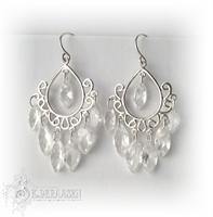 Romantic chandelier earrings