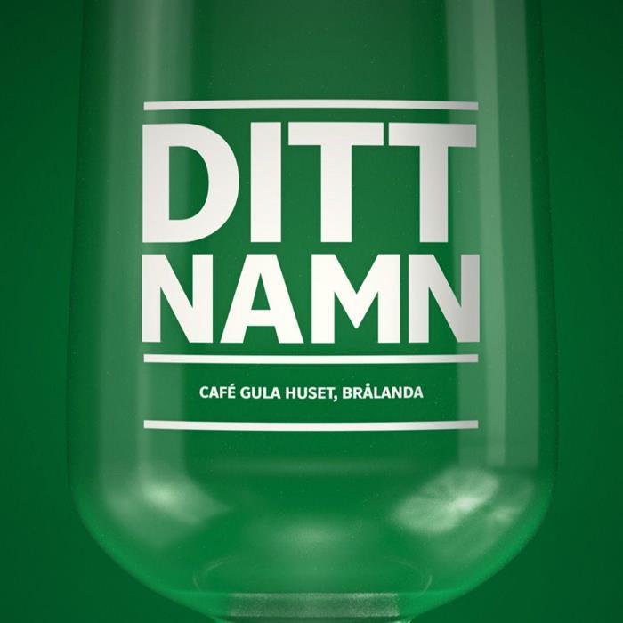 Café Gula Husets Stammisglas
